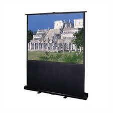 Deluxe Insta-Theater Matte White Portable Projection Screen