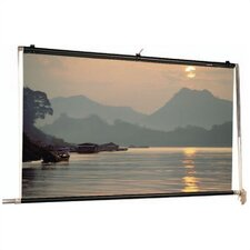 Scenic Roller Matte White Manual Projection Screen