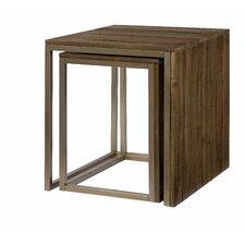 Flashback 2 Piece Nesting Tables by Hammary