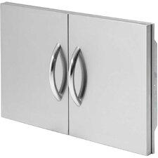 """30"""" Double Stainless Steel Access Door"""