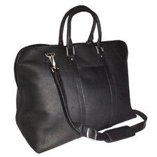 Genuine Leather Vaquetta Lightweight Carryon 25 Inch Duffel Bag