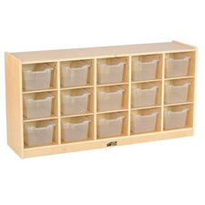 15 Compartment Cubby with Casters