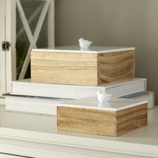 Finch 2 Piece Keepsake Box Set