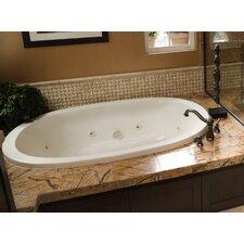 Designer Galaxie 74 x 44 Soaking Bathtub by Hydro Systems