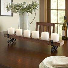 Plank Candleholder