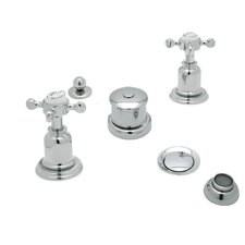 Perrin and Rowe Double Handle Vertical Spray Bidet Faucet by Rohl