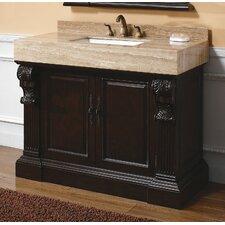 Toscano 42 Single Cherry Bathroom Vanity Set by James Martin Furniture