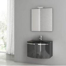 Crystal Dance 27.6 Single Bathroom Vanity Set with Mirror by ACF Bathroom Vanities