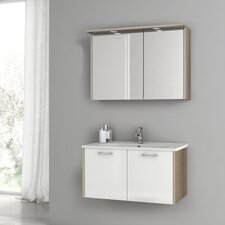 New Space 32.7 Single Bathroom Vanity Set by ACF Bathroom Vanities