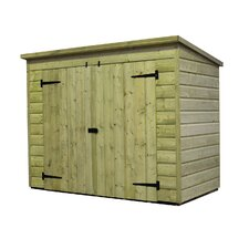 7 x 4 Wooden Bike Shed