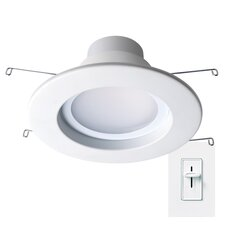 """Dimmable 4"""" LED Recessed Retrofit Downlight"""