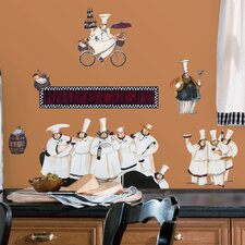 Room Mates Deco 15 Piece Chefs Wall Decal