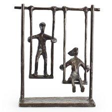 Children on Swings Sculpture