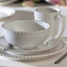 Milford 16 Piece Dinnerware Set, Service for 4