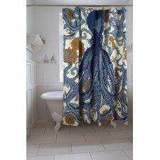 Vineyard Octopus Shower Curtain