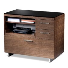 "Sequel 35"" 3-Drawer File"