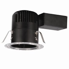 """LEDme Round Downlight Remodel 4"""" Recessed Housing"""