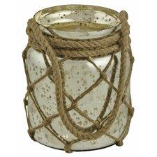 Antiqued Jar Hurricane