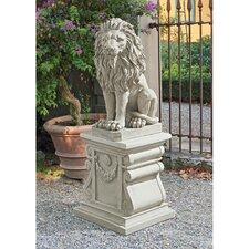 Mansfield Manor Lion Sentinel Statue