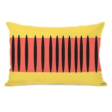 Kalia Aztec Stripes Lumbar Pillow