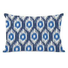 Kelly Ikat Lumbar Pillow