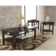 Logan 3 Piece Coffee Table Set
