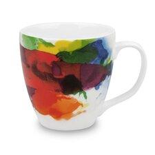 """""""On Color!"""" 14 oz. Coffee Mug (Set of 4)"""