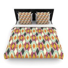 Sequoyah Ovals by Amanda Lane Featherweight Duvet Cover