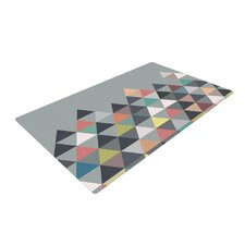 Nordic Combination Gray Abstract Area Rug