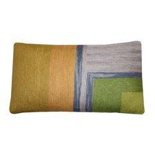 Bright and Fresh Chain Cotton Lumbar Pillow
