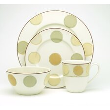 Mocha Java 4 Piece Place Setting, Service for 1