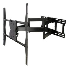 """Full Motion Dual Arm Mount for 35"""" - 60"""" Panel Screens"""