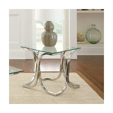 Leonardo End Table by Steve Silver Furniture