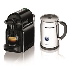 Inissia Espresso Maker with Aeroccino Milk Frother