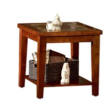 Logan Square End Table by Brady Furniture Industries