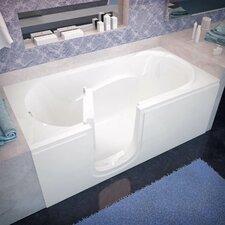Ashton 60 x 30 Whirlpool Soaking Bathtub by Therapeutic Tubs