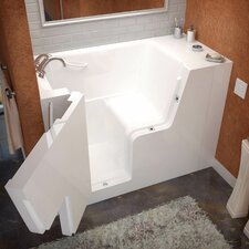 Mohave 53 x 29 Soaking Wheelchair Accessible Bathtub by Therapeutic Tubs