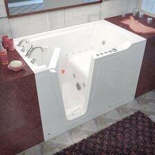 "Crescendo 59.7"" x 35.8"" Whirlpool & Air Jetted Bathtub"
