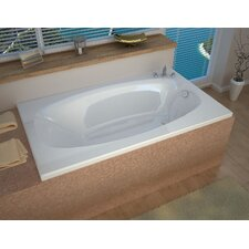 St. Kitts 71 x 41.25 Drop In Soaking Bathtub by Spa Escapes