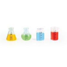 Mixology 4 Piece Chemical Shot Glass Set