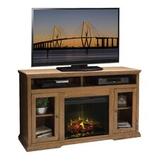 """Colonial Place 59"""" TV Stand with Electric Fireplace"""