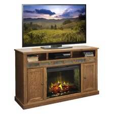 """Oak Creek 62"""" TV Stand with Electric Fireplace"""