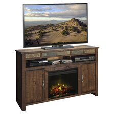 """Old West 60"""" TV Stand with Electric Fireplace"""