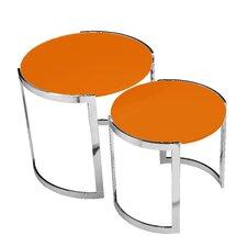 Omni 2 Piece Nesting Table Set