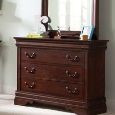 Carriage Court 3 Drawer Dresser