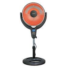 1,200 Watt Portable Electric Fan Compact Heater