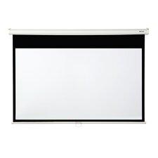 """Matte White 92"""" diagonal Manual Projection Screen"""