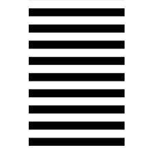 Newport Beige/Black Striped Rug