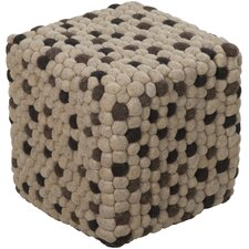 Parsons Wool Cube Ottoman
