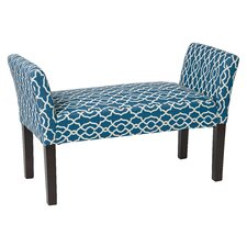 Kelsey Wood Bedroom Bench by Andover Mills